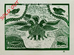 'Bird Spirit' by Geela Sowdluapik