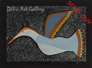 'Kanguq (Snow Goose)' by Elisapee Ishulutaq