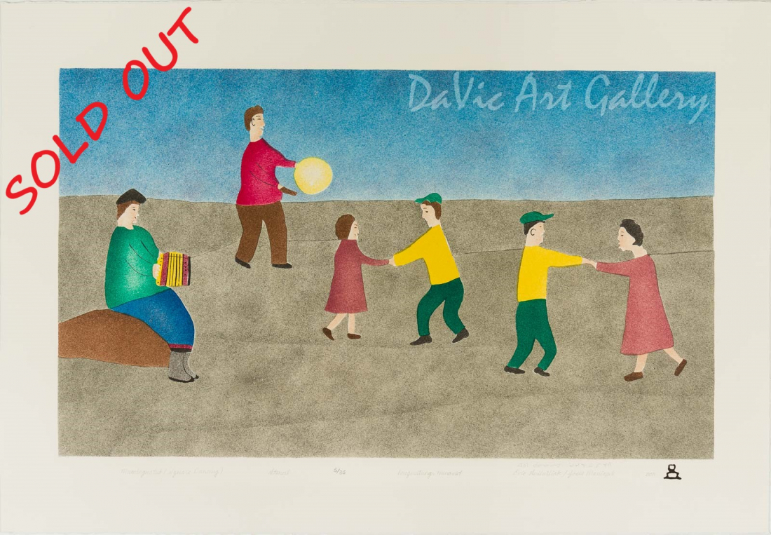 'Muminguatut (Square Dancing)' by Evie Anilniliak