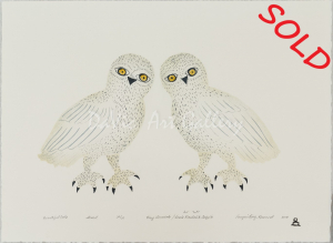 'Beautiful Owls' by May Lonsdale