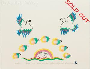 'Rainbow' by Annie Pitsiulak