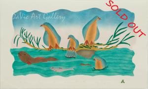 'River Birds' by Annie Kilabuk