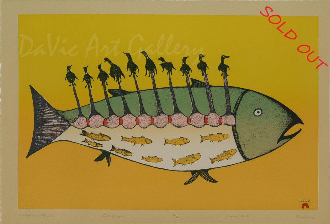'Undersea Illusion' by Pitaloosie Saila