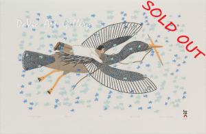 'Celestial Flight' by Qavavau Manumie