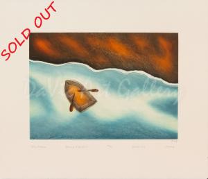 'Calm Waters' by Ohotaq Mikkigak