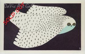 'Midnight Owl' by Ningeokuluk Teevee