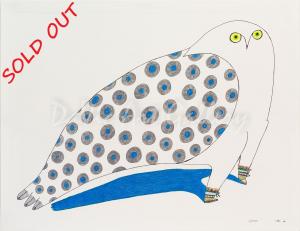 'Owl in Kamiks' by Ningeokuluk Teevee