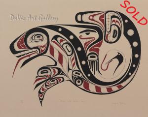 'Raven With Broken Beak' by Wayne Young