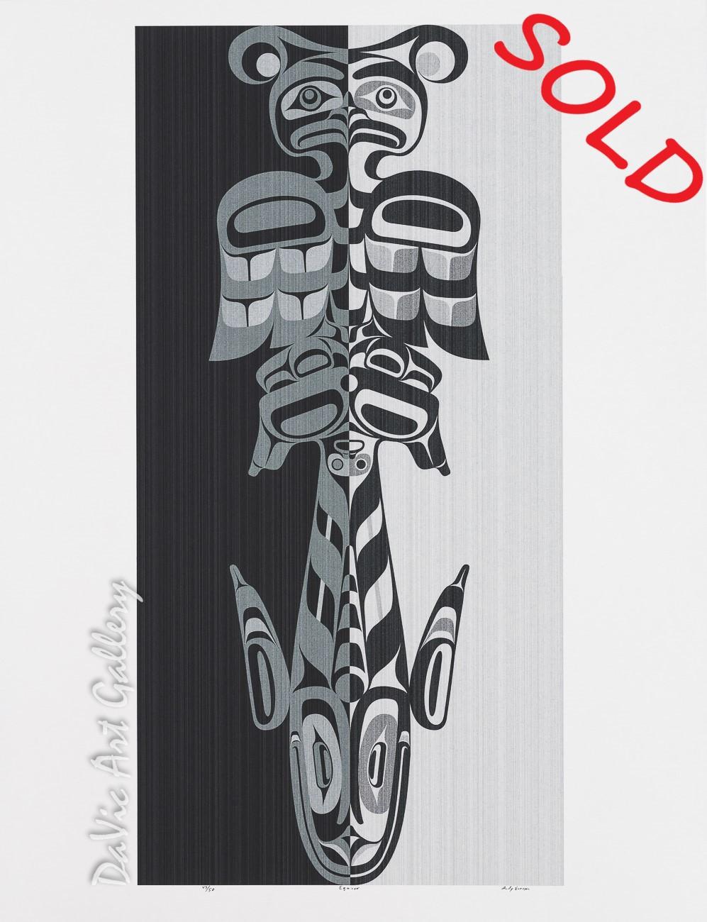 Equinox by Andy Everson 2005 - Northwest Coast - Kwakwaka'wakw