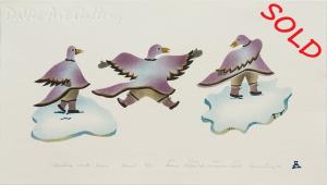 'Celebrating Winter Season' by Annie Pitsiulak