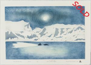 'Moonlight Over Pang' by Annie Naulalik Qappik