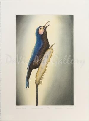 'Morning Melody' by Qavavau Manumie - Cape Dorset