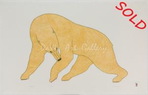 Mighty Bear by Quvianaqtuk Pudlat