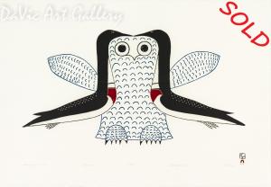 'Imaginary Owl' by Ohotaq Mikkigak