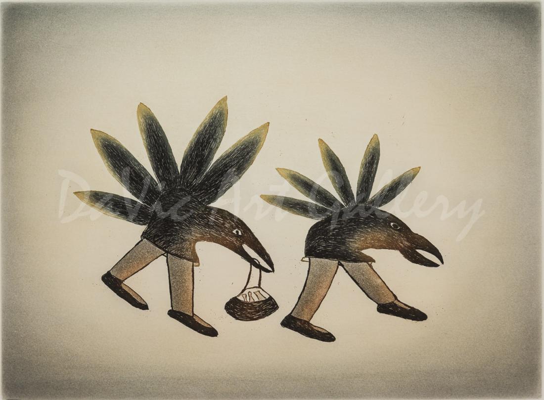 'Nocturnal Bandits' by Ohotaq Mikkigak