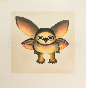 'Playful Owl' by Ohotaq Mikkigak