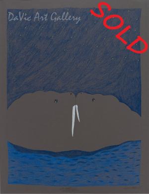 'Pair of Walrus' by Ningeokuluk Teevee