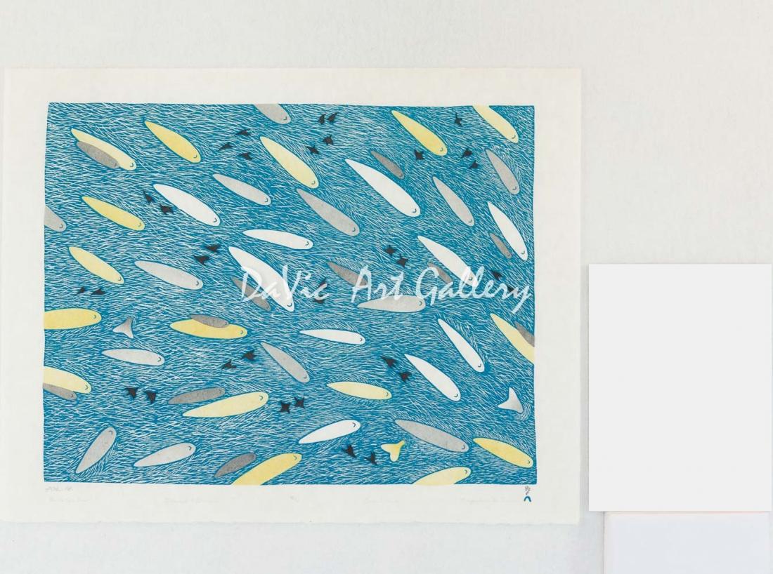 'Bird's Eye View' by Ningeokuluk Teevee