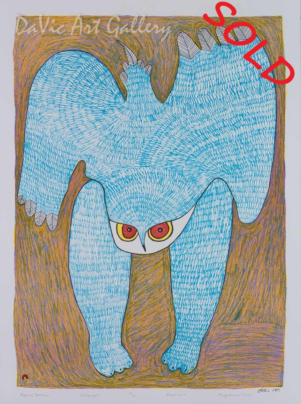 'Ruffled Feathers' by Ningeokuluk Teevee