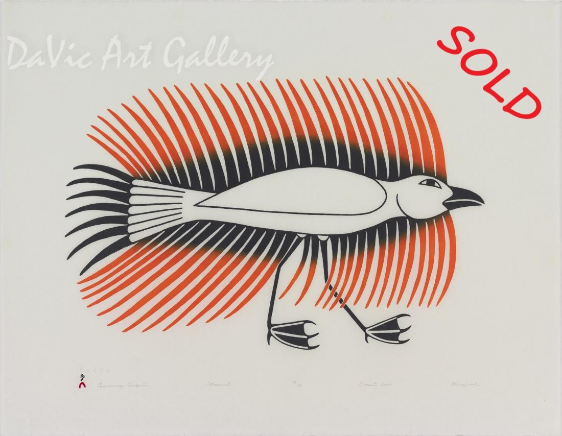 """Quivering Seagull"" by Kenojuak Ashevak"