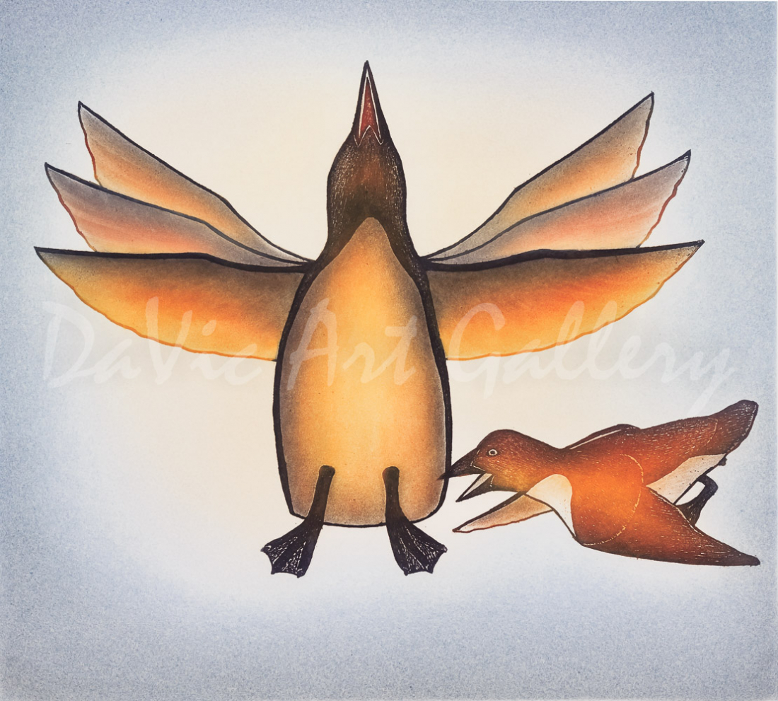Flutter by Kananginak Pootoogook