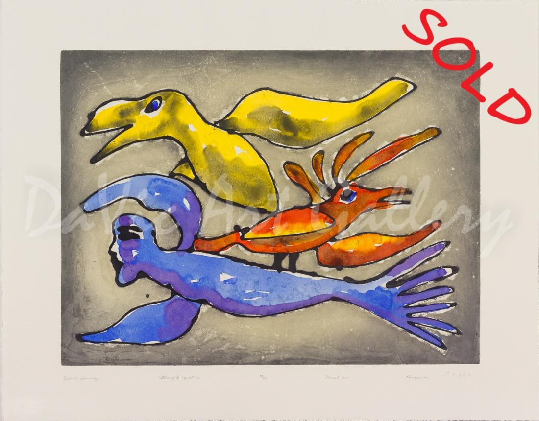 'Sedna's Journey' by Kenojuak Ashevak