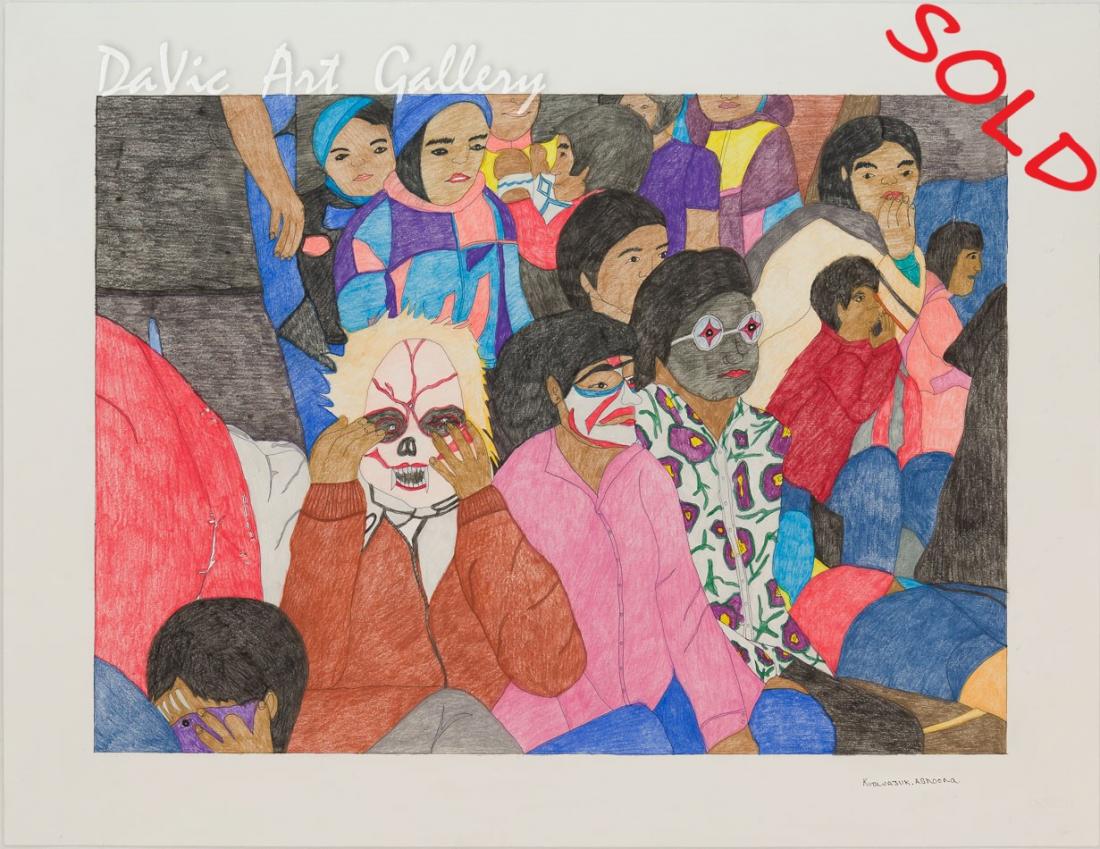 'Scary Stories' by Kudluajuk Ashoona
