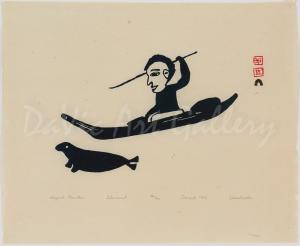 """""""Kayak Hunter"""" by Eleeshushe Parr"""