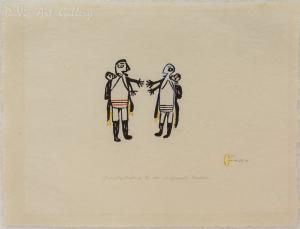 'Friendly Greeting' by Luke Anguhadluq