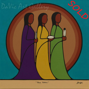 Three Sisters by Sharifah Marsden 2015