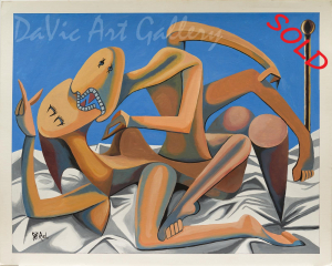 The Lovers by Riel Benn 2006