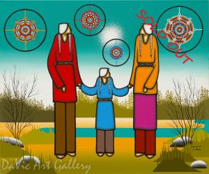 'Family Strength' by Leland Bell