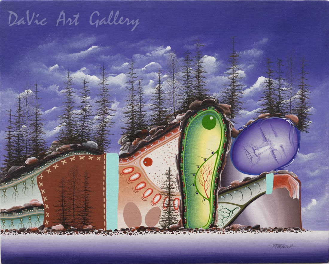 'Blueberry Hill' Mishmountain by James Simon Mishibinijima