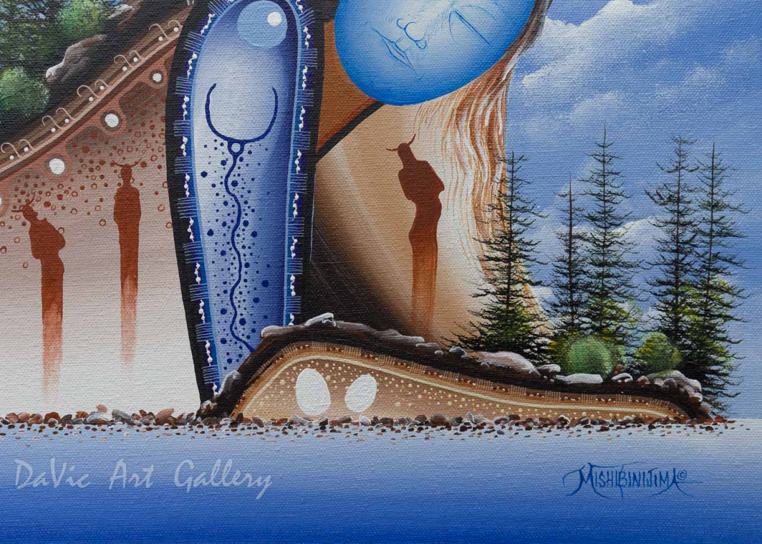 'Dreamer's Cove' Mishmountain by James Simon Mishibinijima