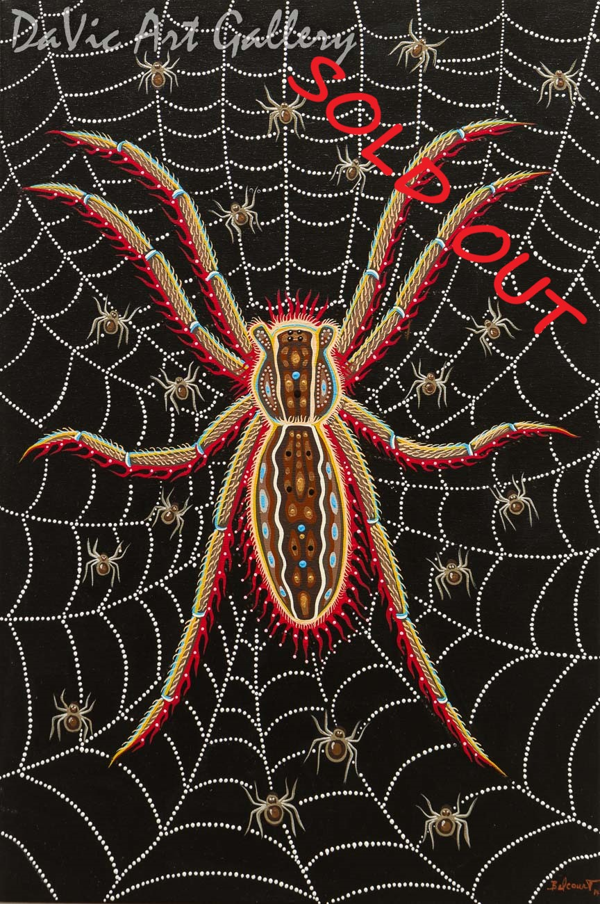 'Gandmother Spider' by Christi Belcourt