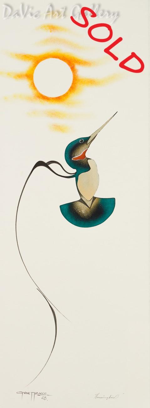 'Hummingbird I' by Garnet Tobacco