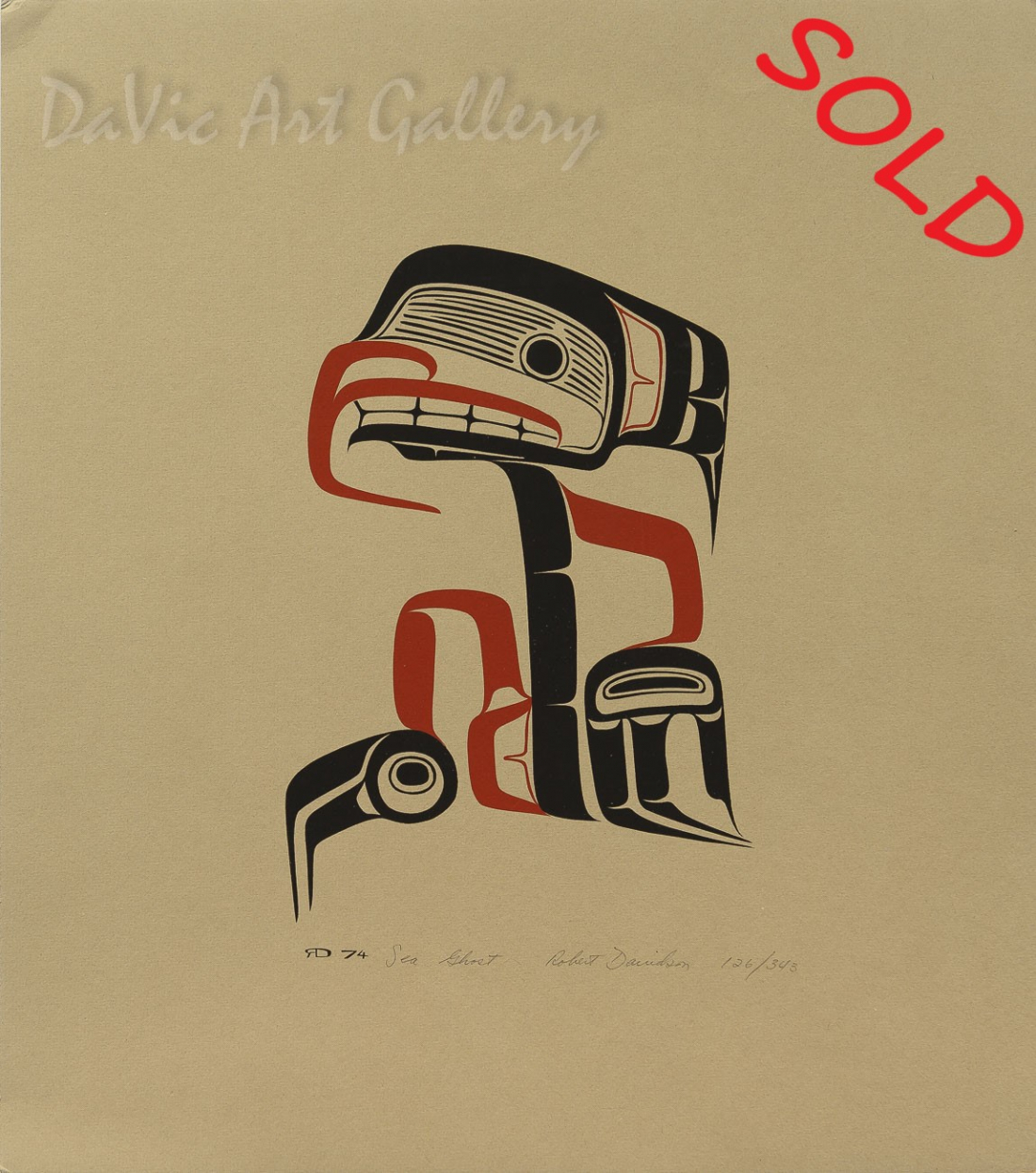 Sea Ghost by Robert Davidson - SOLD