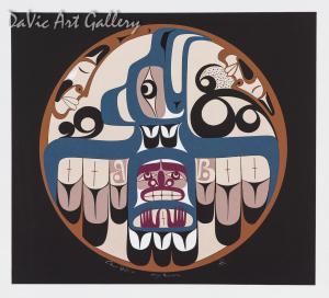 Eagle's Freedom by Francis Dick 2004 - Northwest Coast - Kwakwaka'wakw