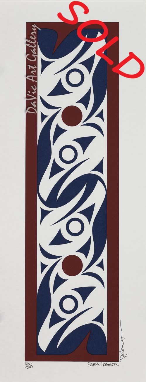 'Ravens Housepost' by Dylan Thomas