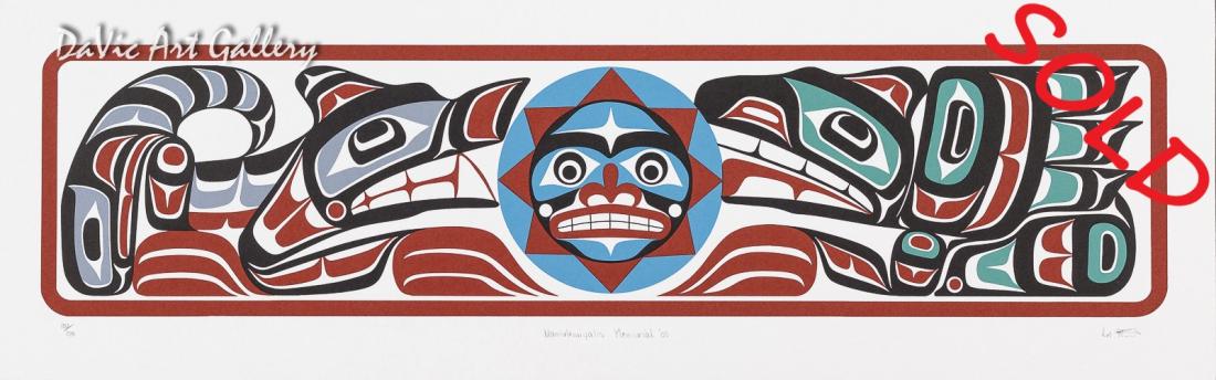 'Namukwiyalis Memorial' by Calvin Hunt 2003 - Northwest Coast - Kwakwaka'wakw