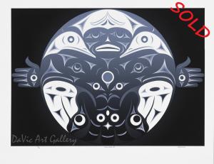 Metamorphisis II by Andy Everson 2005 - Northwest Coast - Kwakwaka'wakw