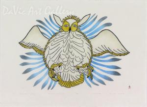 Owl Attacking Prey