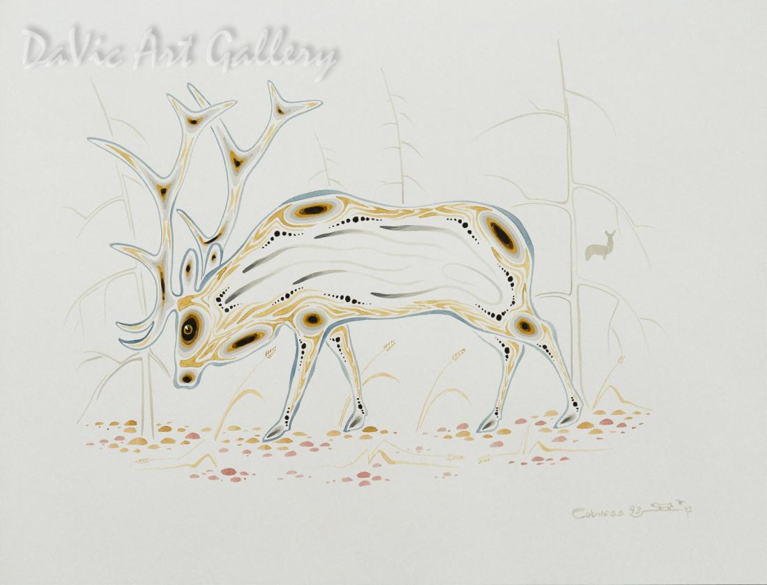 Bull Elk by Eddy Cobiness 1993