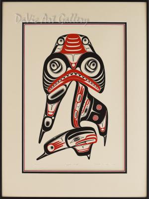 Dogfish Mother by Robert Davidson 1980 - Northwest Coast - Haida