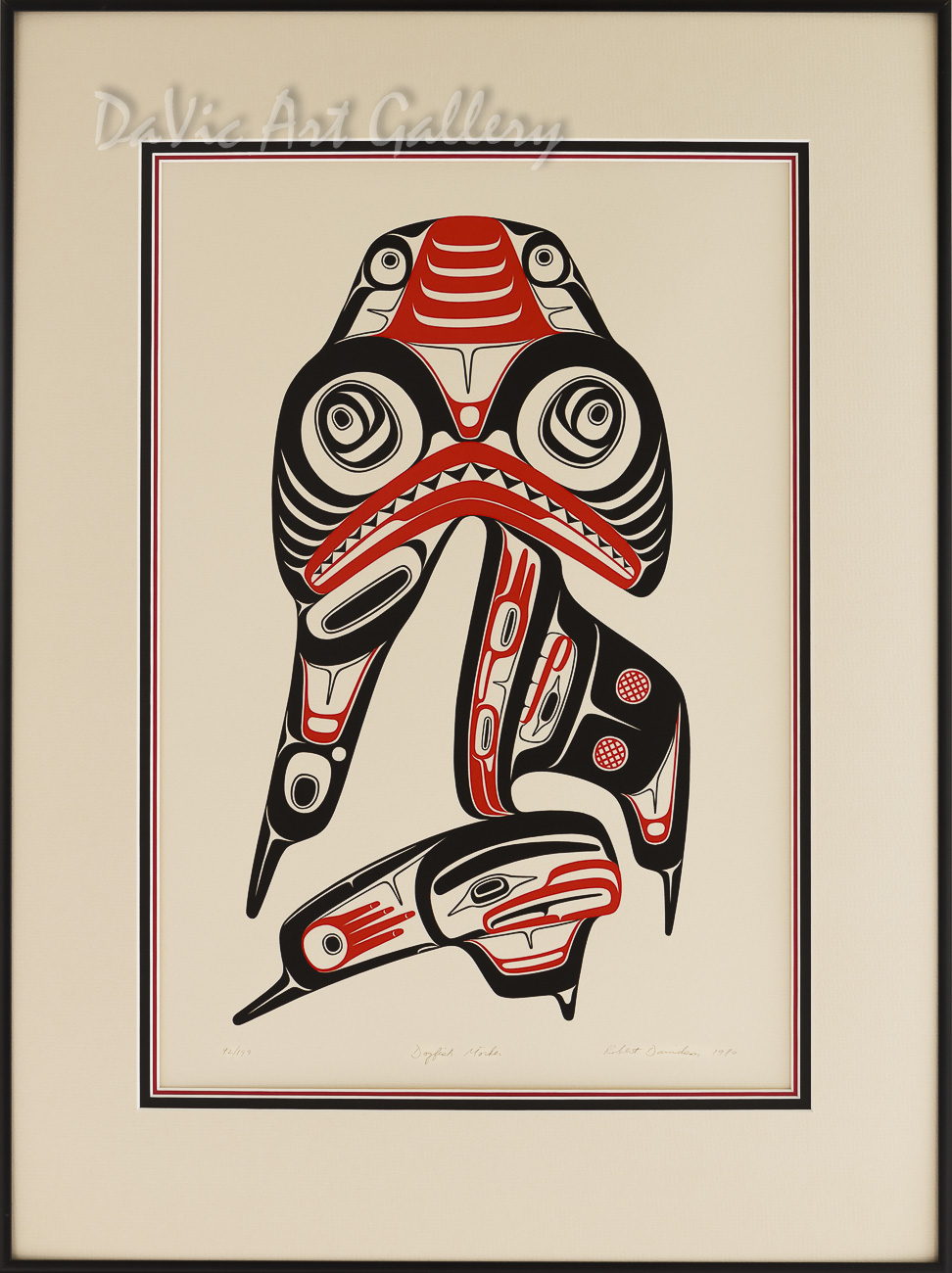 Dogfish Mother by Robert Davidson 1980 - Northwest Coast - Haida