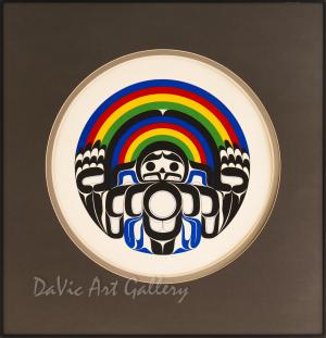 'Memorial Rainbow Drum' by Joe David