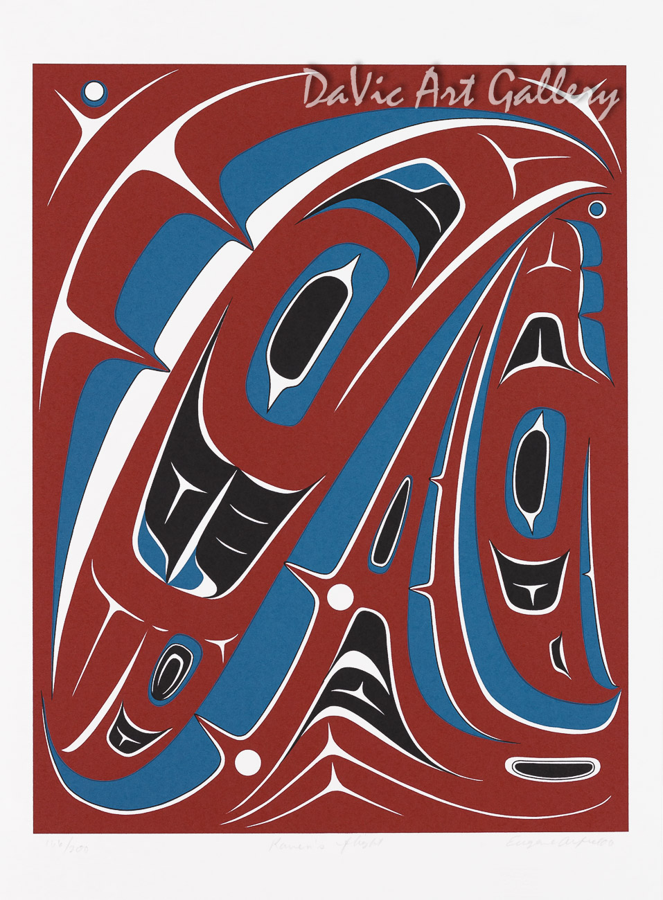 Raven's Flight by Eugene Alfred 2006 - Northwest Coast - Tlingit