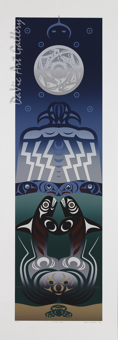 Looking Glass by Susan Point 2002 - Northwest Coast - Coast Salish