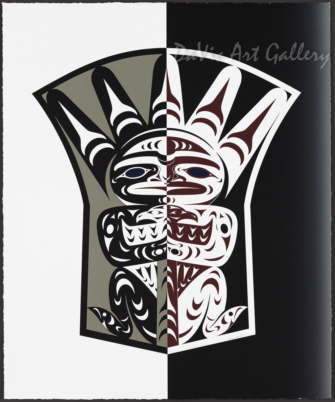 Spirituality by Susan Point 2009 - Northwest Coast - Coast Salish