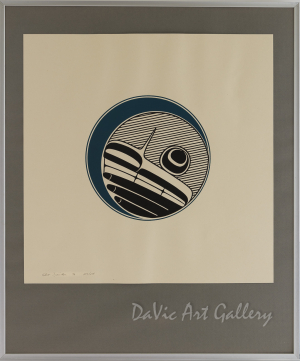 Moon by Robert Davidson 1976 - Northwest Coast - Haida